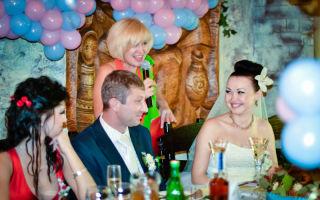 Сценарий свадьбы без тамады на 15-20 человек в кафе (ведущие — пара друзей)