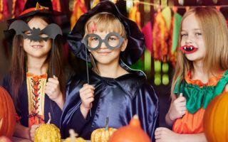 Как организовать праздник на хеллоуин для детей 4-10 лет?