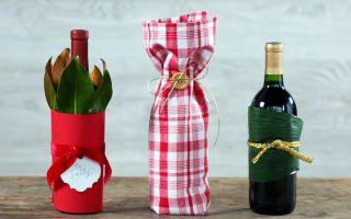 Как оригинально упаковать бутылку в подарок – 13 необычных вариантов