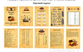 Интересная пиратская игра для детей ищем клад дома – сценарий