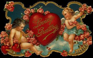 Открытка ко дню святого валентина «for you…»