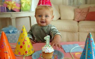 13 идей, что подарить на 1 годик ребенку мальчику