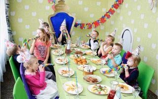 Сценарий, как отметить день рождения ребенку в семь лет