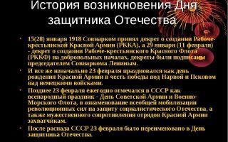 День защитника отечества 23 февраля — 13 фактов из истории праздника