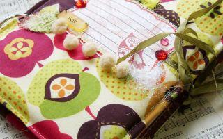 Простой блокнотик своими руками в подарок – мастер-класс