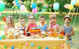 Как весело отметить день рождения в деревне — сценарий для детей 8-11 лет