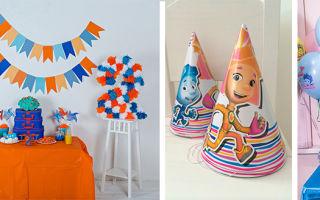 Сценарий дня рождения для мальчика 4-5 лет в стиле фиксики