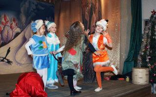 Новогодний музыкальный спектакль в школе – год петуха