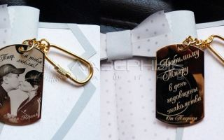 13 идей, какой сувенир можно подарить мужчине на память о себе