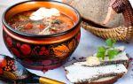 13 традиционных блюд русской кухни
