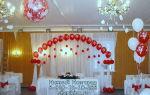 13 идей украшения свадьбы шарами