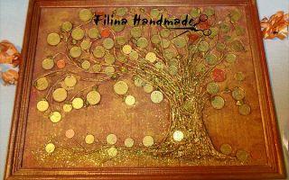 Денежное дерево из монет своими руками – мастер-класс с фото