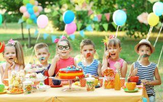 Сценарий, как отметить день рождения ребенку в 10 лет