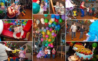 Сценарий, как отметить день рождения ребенку в три года