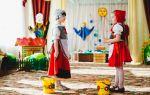Сценарий музыкальной сказки красная шапочка на новый лад для детей по ролям