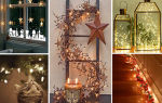 13 фото идей, как украсить дом к рождеству своими руками
