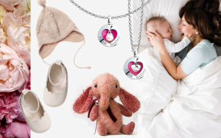 13 замечательных подарков молодой маме на рождение ребенка
