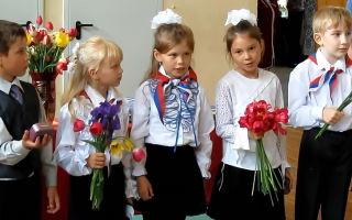 Последний звонок в школе – классический сценарий праздника