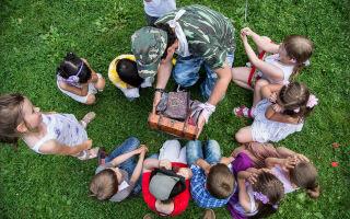 Игры на природе для детей — как создать праздник на улице