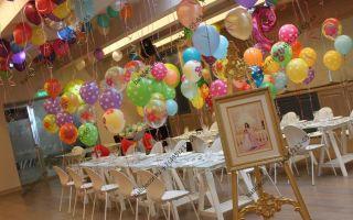 13 идей с фото, как оформить шариками детский праздник, выпускной, день рождения и даже торт