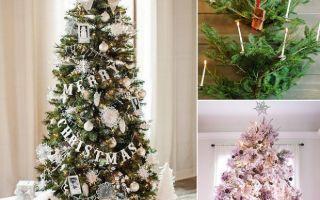 Украшение новогодней елки — оригинальные идеи