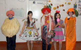 Сценарий на праздник урожая в начальной школе 1-4 класс «осенний карнавал»