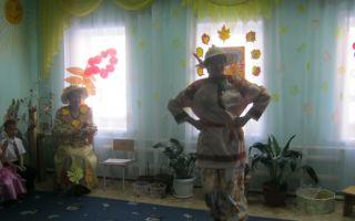 Сценарий праздника для детей младшей группы «золотая осень» с участием маши и медведя