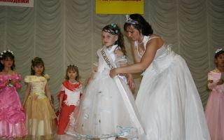 Конкурс красоты «маленькая фея» — сценарий для детской вечеринки с музыкальной подборкой