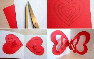 Как сделать валентинку для мальчика из бумаги — поэтапные фото изготовления валентинки и советы