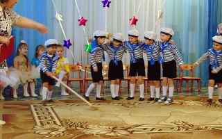 Сценарий спортивного праздника к 23 февраля в детском саду